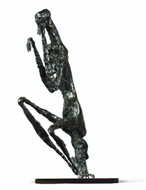 Artwork by Germaine Richier, LA MANTE, Made of bronze