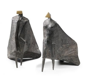 Lynn Chadwick, Walking cloaked figures II