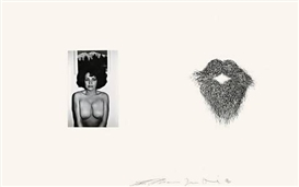 Jim Dine, Lee Friedlander, 2 WORKS: FROM: PHOTOGRAPHS AND ETCHINGS