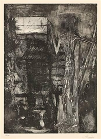 Artwork by Germaine Richier, UNTITLED, Made of Etching