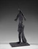 Artwork by Germaine Richier, Gaurrier N°15, Made of Bronze with dark patina