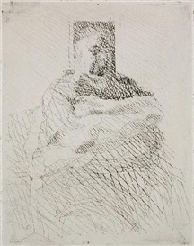 Artwork by Jacques Villon, Camille Renault, Made of etching