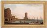 Johan Sevenbom, Cappriccio av en mediteriansk hamn
