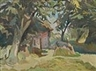 Stanisław Kamocki, Cottage among the Trees