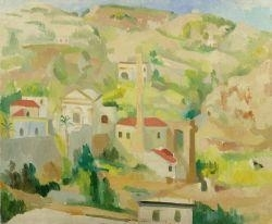 Artwork by Max Gubler, Lipari, Made of Oil on canvas