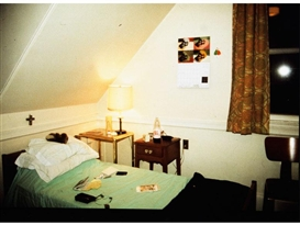 Artwork by Nan Goldin, MY ROOM IN BELMONT, Made of Cibachrome print