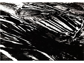 Artwork by Mario Giacomelli, GENNAIO, Made of Vintage gelatin silver print