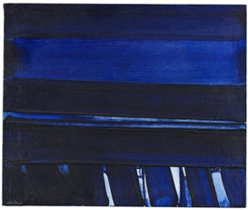 Artwork by Pierre Soulages, Peinture, Made of Oil on canvas