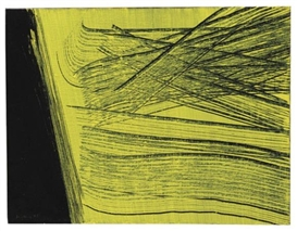 Artwork by Hans Hartung, T 1971 H 33, Made of Acrylic on canvas