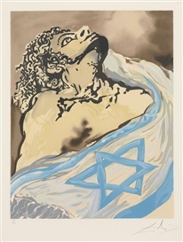 Artwork by Salvador Dalí, 25 Works: Aliyah, Made of Colored lithographs