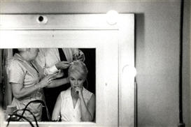 "Artwork by Bruce Davidson, ""The new Face of Marilyn Monroe"", Made of Gelatin silver print"