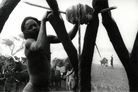 Artwork by Marc Riboud, Drought in Africa., Made of Gelatin silver print