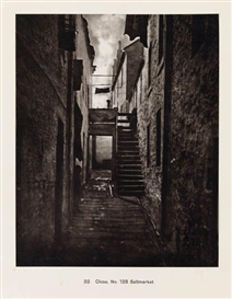 Artwork by Thomas Annan, Close No. 128 Saltmarket [from the 'Old Closes and Streets of Glasgow' series], Made of Carbon print