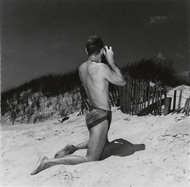Paul Cadmus, Jared French, Figure with a camera