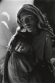Artwork by Sebastião Salgado, Ethiopie, Made of Silver print