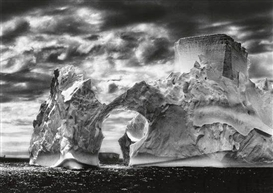 Artwork by Sebastião Salgado, Antarctica, Made of Oversized silver print
