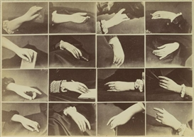 Artwork by Louis-Jean-Baptiste Igout, A GAME OF HANDS (JEU DE MAINS), Made of albumen print