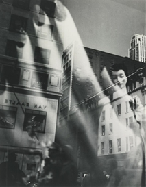 Artwork by Lisette Model, REFLECTIONS, NEW YORK, Made of ferrotype