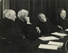 Erich Salomon, WAYS AND MEANS COMMITTEE LISTENING TO A SPEAKER (CONGRESSMEN DOUGHTON,...