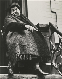 Artwork by Lisette Model, LOWER EAST SIDE, NEW YORK, Made of photograph