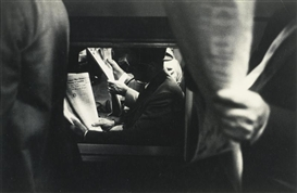 Artwork by Louis Stettner, PENN STATION, Made of photograph