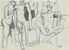 Keith Vaughan, Assembling Figures Group