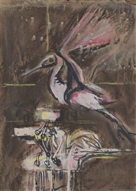 Graham Sutherland, The pink bird