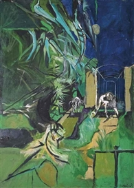Artwork by Graham Sutherland, Forme, Made of oil on canvas