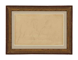 Edgar Degas, Studies of figures on horses