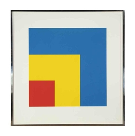 Ellsworth Kelly, Red Yellow Blue (A. 288)