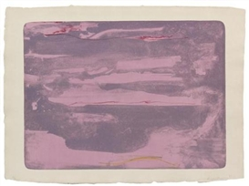 Artwork by Helen Frankenthaler, Dream Walk, Made of lithograph