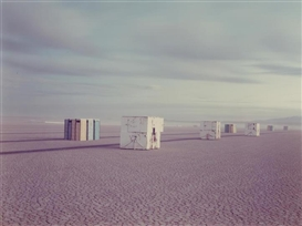 Artwork by Richard Misrach, Comfort Stations, 1983, Made of Chromogenic print