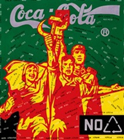 Wang Guangyi, Great Criticism - Coca Cola