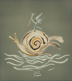 Salvador Dalí, The Snail