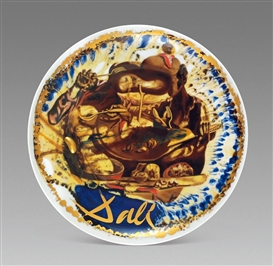 Artwork by Salvador Dalí, Golden Bean, Made of Porcelain