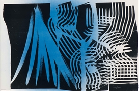 Artwork by Hans Hartung, Farandole, Made of Colour lithograph