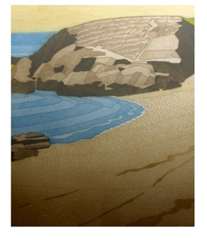 A Beach of the Lleyn Peninsula By John Brunsdon