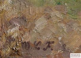 Artwork by Maria Caspar-Filser, Frühling auf der schwäbischen Alb, Made of Oil on canvas