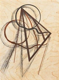 Artwork by Man Ray, Les heures heureuses, Made of Lithograph in colour on vellum