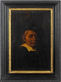 Artwork by Rembrandt, Portrait, Made of oil on canvas