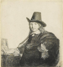 Artwork by Rembrandt, Jan Asselyn, Made of etching and drypoint