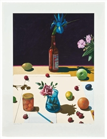Paul Wonner, Still Life with Bud