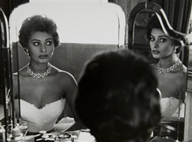 Artwork by Sanford Roth, Sophia Loren, Made of Gelatin silver print