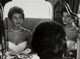 Artwork by Sanford Roth, Sophia Loren, Made of Gelatin silver print