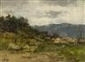 Guglielmo Pizzirani, Hill Landscape