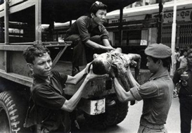 Artwork by Philip Jones Griffiths, War in Cambodia, Made of Gelatin silver print