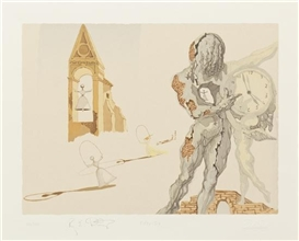 Artwork by Salvador Dalí, Destino #56, Made of silkscreen