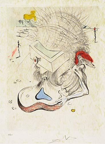 Dalí Salvador Apollinaire Poems Secrets 1967 Mutualart