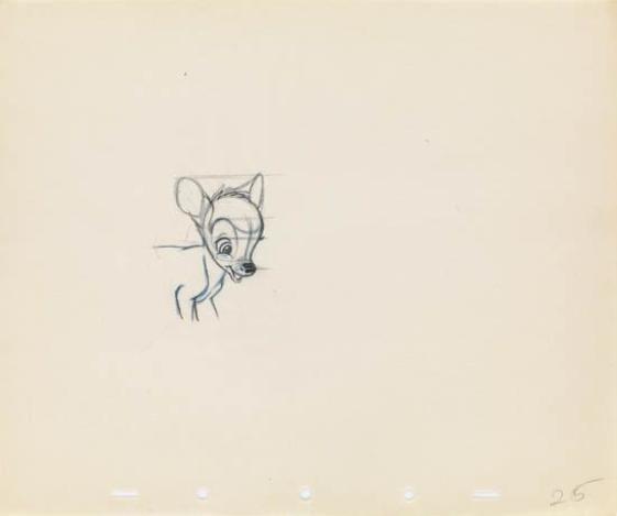 Walt Disney Studios Bambi 1941 Mutualart