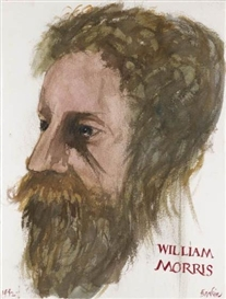Leonard Baskin, William Morris